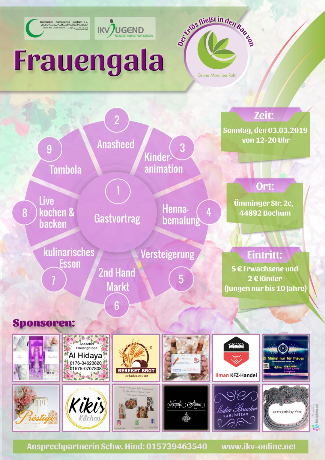 Flyer Frauengala 03.03.2019